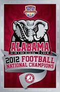 Alabama Football Poster