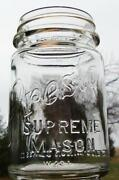 Presto Supreme Mason Jar
