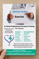 In-home exercise for Seniors