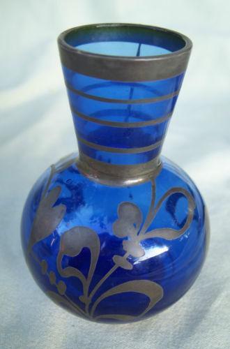 Small Cobalt Blue Vase Ebay