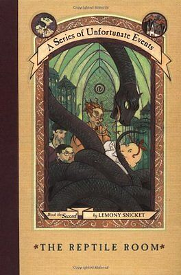 The Reptile Room  A Series Of Unfortunate Events  2  By Lemony Snicket