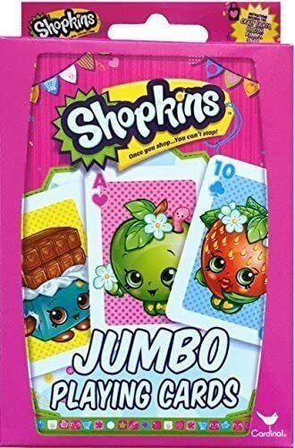 Shopkins Jumbo Card Deck by Cardinal