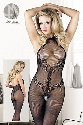 Mandy Mystery Deluxe Catsuit Spitze S-L Catsuit |56