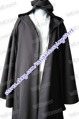 Star Wars Obi Wan Kenobi Costume Robe Cosplay Halloween Party Tunic Best