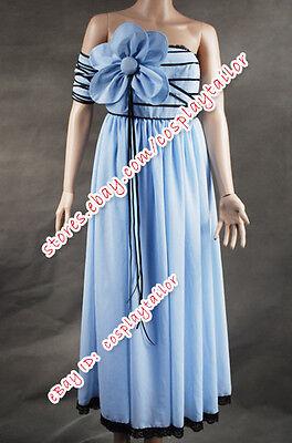 Alice In Wonderland Alice Blue Flower Dress Costume Elegant Dress Good For Girls