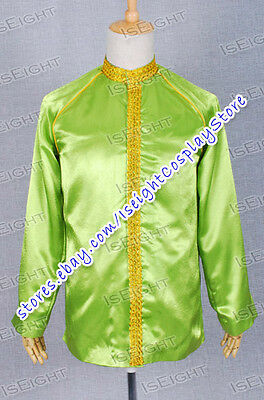 Star Trek Uniform Jame Kirk Jacket Greem Costume High Quality Halloween Coat  - High Quality Star Trek Uniform