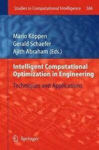Intelligent Computational Optimization in Engineering: Techniques &...