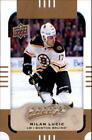 Upper Deck Milan Lucic Boston Bruins Hockey Trading Cards