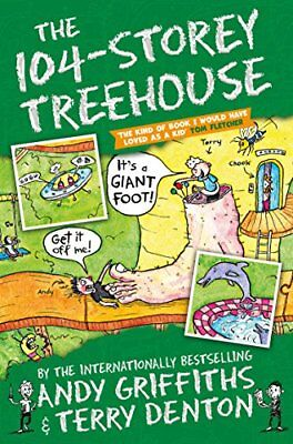 The 104-Storey Treehouse The Treehouse Boo by Andy Griffiths New Paperback Book