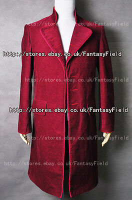 Charlie And The Chocolate Factory Willy Wonka Coat Costume Halloween Party