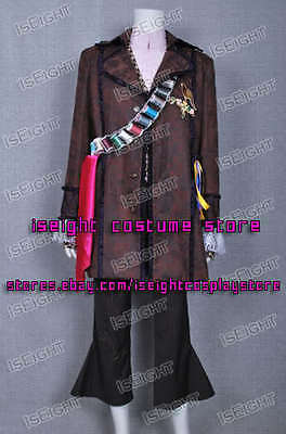 Tim Burton Alice In Wonderland Cosplay Johnny Depp Mad Hatter Costume Halloween - Mad Hatter Tim Burton Costume