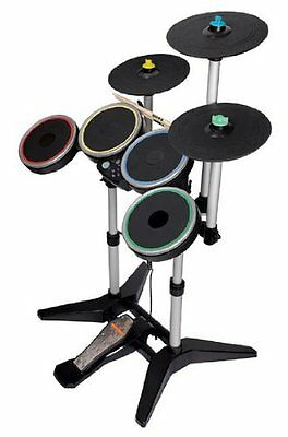 NEW PS3 Rock Band 3 Wireless Pro Drums and Cymbal Pack -  PLAYSTATION 3