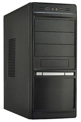 KOMPLETT PC Büro Computer Intel Quad Core 4GB RAM 1000GB DVD MS Office 2016