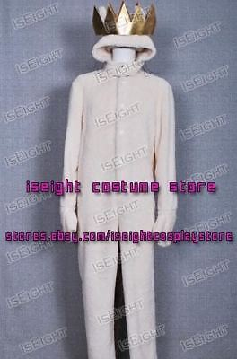 Where the Wild Things Are Cosplay Wolf Max Records Costume Jumpsuit In Stock](Wild Things Max Costume)