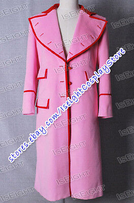 Who Buy Dr Doctor Pink Trench Coat Lady Cosplay Costume High Quality Halloween