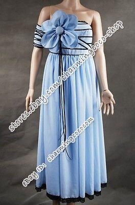 Alice In Wonderland Movie Costume Alice Blue Flower Elegant Sexy Chiffon - Alice In Wonderland Flower Costume