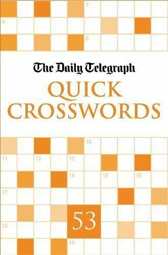 Daily Telegraph Quick Crosswords 53 BRAND NEW BOOK (Paperback, 2011)