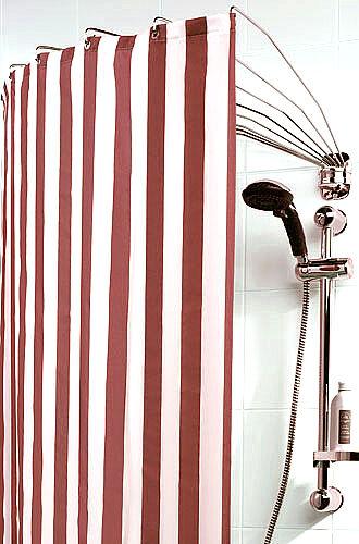 SEALSKIN Umbrella Schwenkbare Duschvorhangspinne 12 Arme einzeln drehbar