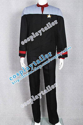 Star Trek Nemesis Voyager Captain Sisko Cosplay Costume Uniform High Quality - High Quality Star Trek Uniform
