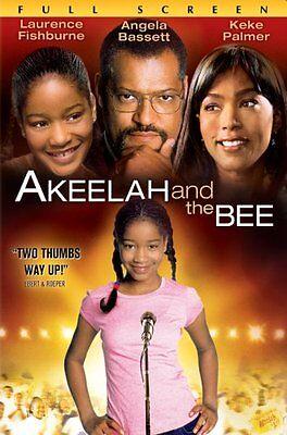 Akeelah And The Bee  Dvd Angela Bassett  Laurence Fishburne  Keke Palmer  Curtis