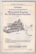 McCormick Deering Thresher