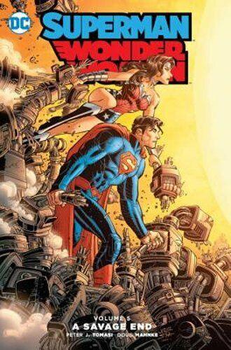 Superman/wonder Woman Vol. 5 By Peter J. Tomasi: New