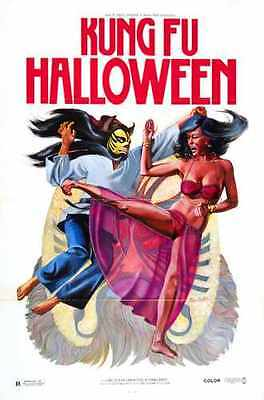 ster 01 A4 10x8 Photo Print (Kung-fu-halloween)