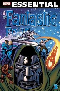 Essential Fantastic Four #3 MARVEL Graphic Novel NEW