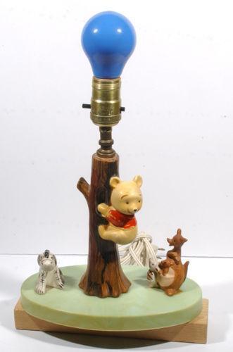 Vintage Disney Lamp Ebay