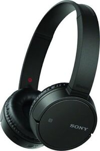 Sony MDRZX220BT/B Wireless On-Ear Headphones, Black