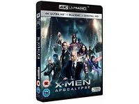 X-Men Apocalypse / Ultra HD 4K Blu Ray