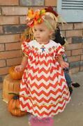 Smocked Pumpkin