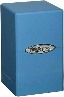 Ultra Pro Satin Tower Deck Box - Light Blue New