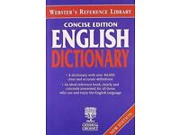 Websters Concise English Dictionary (Webster's reference library), Thesaurus.
