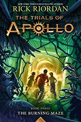 The Trials Of Apollo Book Three The Burning Maze  New Hardcover  By Rick Riordan
