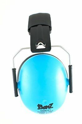 Used, Baby Banz Ear muffs by Baby Banz Carribean  Blue 2-10 for sale  New Providence