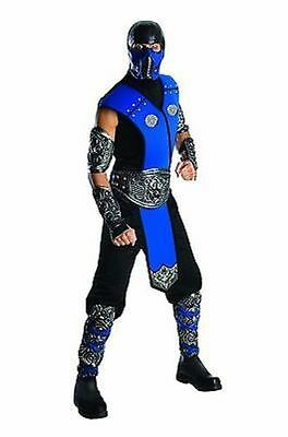 Rubies Mortal Kombat Sub Zero Halloween Cosplay Video Game Costume - Sub Zero Mortal Kombat Halloween Costume