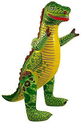 Aufblasbar Dinosaurier - 40 Cm Groß Zoo Tier Zum Party Spielzeug
