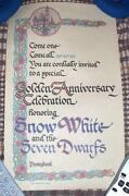 Disney Snow White Poster