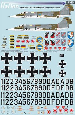 Decals 1:32 F-104G Jabo 31/32/36