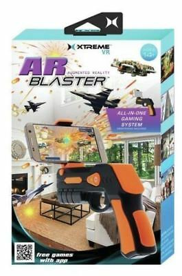 AR Gun Augmented Vertual Reality Blaster All-in-One Game System for Smartphones