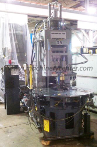 125 Ton Newbury Rotary Injection Molding Machine