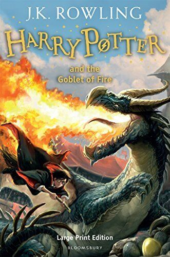 Harry Potter And The Goblet Of Fire (Book 4) NEU Gebunden Buch  ROWLING J.K.