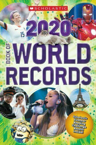 Scholastic Book of World Records 2020   Brand New, Free Shipping!