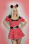 Ladies Halloween Costumes Minnie Mouse