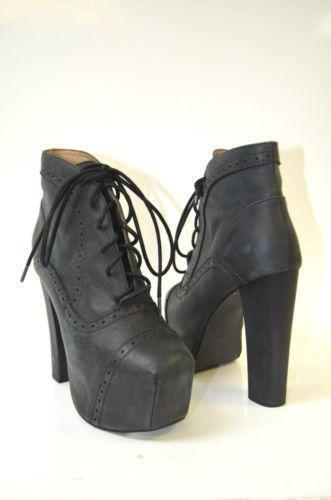 jeffrey campbell lita boots ebay. Black Bedroom Furniture Sets. Home Design Ideas