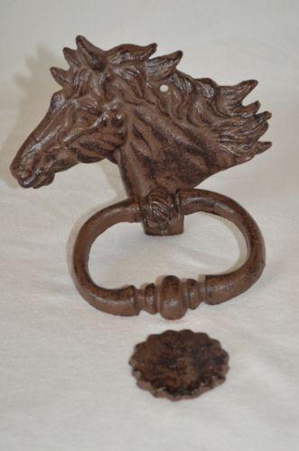 Horse Head Door Knocker Ebay