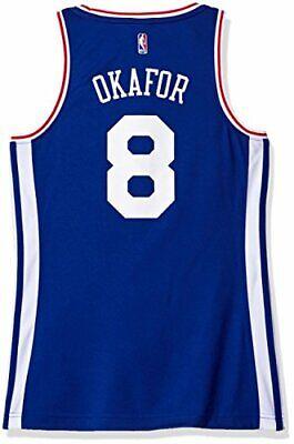 NBA Women's Philadelphia 76ers Okafor Replica Player Away Jersey, Medium, Blue Womens Nba Player Replica Jersey