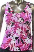Womens Tankini Swimsuit Size 14