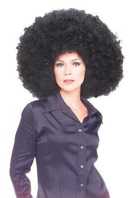 Gigantic Afro Clown Wig Color Black for - Black Clown Wig